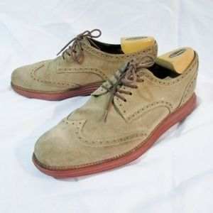 COLE HAAN LUNARGRAND Wingtip Oxford Leather Shoe